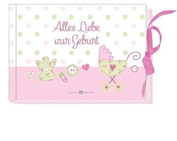 Alles Liebe zur Geburt – Glückwünsche für Mädchen -