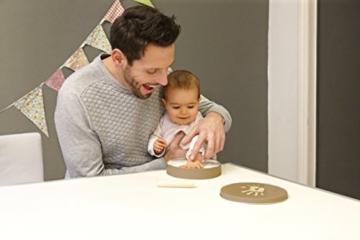 Baby Art Geschenkbox für Abdruck -