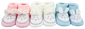 Baby Erstlingsschuhe – Motiv Mäuse -