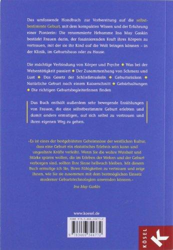 Die selbstbestimmte Geburt: Handbuch für werdende Eltern -