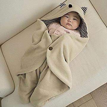 Multifunktions-Schlafsack aus weichem Fleece -