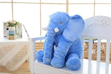 Rainbow Plüsch Kissen Schlaf Elefant -