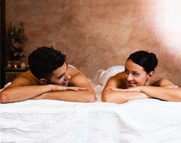 Romatische Massage für Zwei