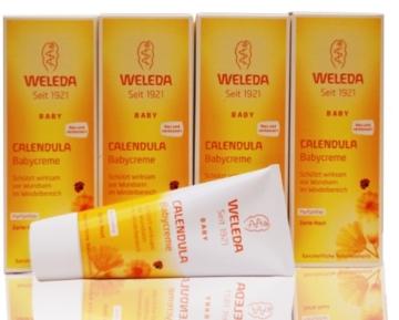 Set 4 x Weleda Calendula-Babycreme, 75 ml -