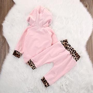 Set für Neugeborenes Hoodie + Hose Mädchen -