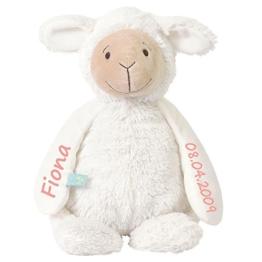 Stofftier Schaf mit personalisiertem Namen