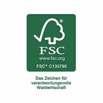 LAUBLUST Holzkiste mit Gravur Personalisiert ❤️ Teddybär Motiv ❤️ Zur Geburt - 30x20x14cm, Natur, FSC® - 3