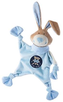 sigikid, Jungen, Schnuffeltuch, Hase mit Sternzeichen Zwillinge, Blau, 48830 - 1