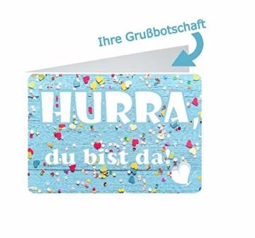 dubistda© Windeltorte Windelmotorrad Jungen ROCKSTAR blau / 45-teilig - Windeltorte Motorrad - Geschenk zur Geburt - 2