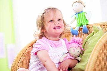 Haba 3951 - Schutzengel Tine, weiche Stoffpuppe für Kinder von 0-5 Jahren zum Spielen und Kuscheln, Prima Geschenk zur Geburt, Taufe oder dem 1. Geburtstag - 2