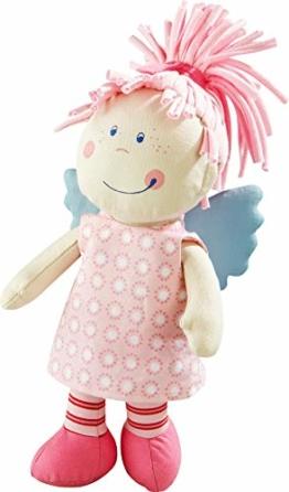 Haba 3951 - Schutzengel Tine, weiche Stoffpuppe für Kinder von 0-5 Jahren zum Spielen und Kuscheln, Prima Geschenk zur Geburt, Taufe oder dem 1. Geburtstag - 1