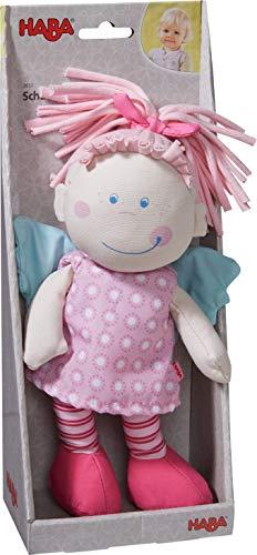 Haba 3951 - Schutzengel Tine, weiche Stoffpuppe für Kinder von 0-5 Jahren zum Spielen und Kuscheln, Prima Geschenk zur Geburt, Taufe oder dem 1. Geburtstag - 4
