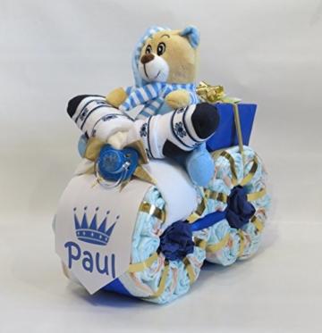 "Windeltorte – Windelmotorrad""Prinz"" blau -"