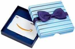 Amazon.de Geschenkkarte in Geschenkbox - 50 EUR (Blaue Streifen) - 1