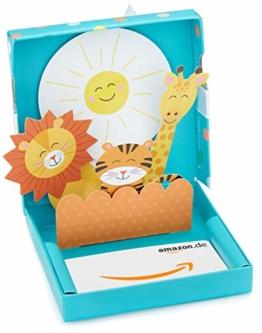 Amazon.de Geschenkkarte in Geschenkbox (Willkommen Baby) - 1