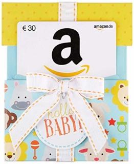 Amazon.de Geschenkkarte in Geschenkkuvert - 30 EUR (Hallo Baby) - 1