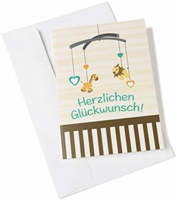 Amazon.de Geschenkkarte in Grußkarte (Baby Glückwünsche) - 2