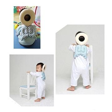Baby Kopf Schutz Pad Kleinkind Kopfstütze Kissen Baby Hals Cute Flügel Still Drop Widerstand Kissen - 4