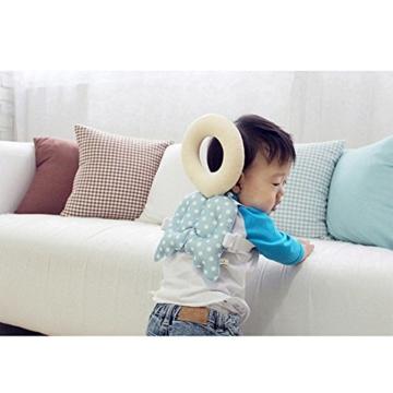Baby Kopf Schutz Pad Kleinkind Kopfstütze Kissen Baby Hals Cute Flügel Still Drop Widerstand Kissen - 5