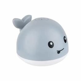 Badewannenspielzeug Kleiner Wal Badespielzeug Baby Wasserspielzeug Wasserdusche Spielzeug Super Geschenk für Kinder (B) - 1