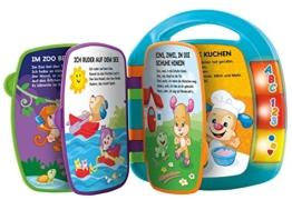 Fisher-Price CDH40 - Lernspaß Liederbuch Baby Spielzeug zum Lernen von Buchstaben, Zahlen und Formen, Spielzeug ab 6 Monaten, deutschsprachig - 1