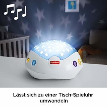 Fisher-Price CDN41 - 3 in 1 Traumbärchen Baby Mobile mit Spieluhr, Nachtlicht, White Noise und Sternenlicht Projektor, Babyausstattung ab Geburt - 4