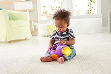 Fisher-Price GXC35 - Rainforest Erlebnisdecke, Krabbeldecke mit Musik und Lichtern, Spieldecke für Babys mit weichem Spielbogen, ab 0 Monaten, mit Tukan, Abweichungen in Verpackung vorbehalten - 5