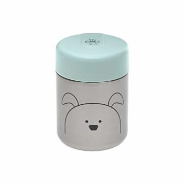 LÄSSIG Baby Kinder Thermo Warmhaltebox Brei Snacks auslaufsicher Edelstahl/Little Chums Dog - 1
