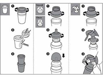 Philips AVENT SCF619/05 Aufbewahrungsbecher für Muttermilch, Becher inklusive Deckel - 5