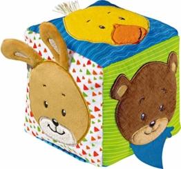 Ravensburger ministeps 4162 Musikalischer Softwürfel - Activity-Würfel mit Musik und Geräuschen, Motorikspielzeug, Baby Spielzeug ab 6 Monate - 1