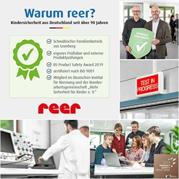 Reer 90430 - Edelstahl -Warmhaltebox für Nahrung mit Becher, 350ml - 4