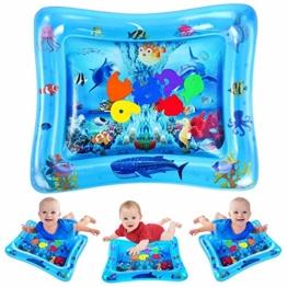 VATOS Wassermatte Baby, Baby Spielzeuge 3 6 9 Monate, Baby Wassermatte ist Perfektes Sensorisches Spielzeug für Baby Frühe Entwicklung Aktivitätszentren - 1