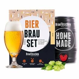 braufaesschen |Bierbrauset zum selber brauen | Pils im 5 Liter Fass | In 7 Tagen fertig Männer, Freund oder Vater - 1
