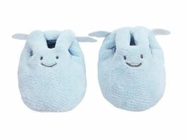 Trousselier - Babyschuhe - Häschenengel - Alter 0 bis 2 Jahre - Ideales Geburtsgeschenk - Maschinenwaschbar - Farbe blau - 1